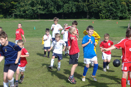 Football Brithday Parties, Cheshire, Derbyshire, North Wales